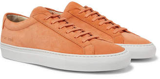 Common Projects Original Achilles Suede Sneakers - Men - Orange