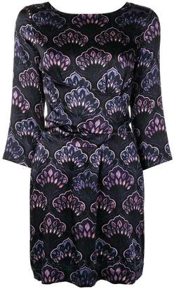 L'Autre Chose tie waist printed dress