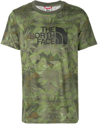 The North Face camouflage print T-shirt