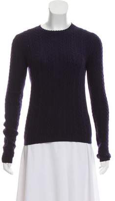 Prada Sport Cashmere Cable Knit Sweater