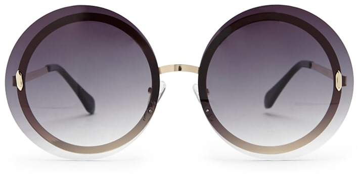 Forever 21 Round Rimless Sunglasses