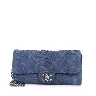 Chanel Timeless python crossbody bag