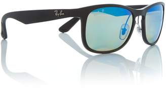 Ray-Ban Matte black RB4263 square sunglasses