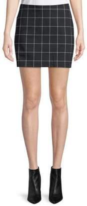 Bailey 44 Alexei Plaid Mini Skirt