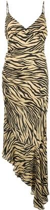 Nicholas zebra printed dress