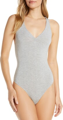 Felina Crisscross Thong Bodysuit