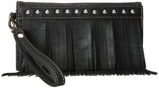 M&F Western Fringe Wristlet Wallet Wallet Handbags