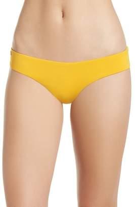 Maaji Mellow Yellow Sublime Leaf Reversible Bikini Bottoms
