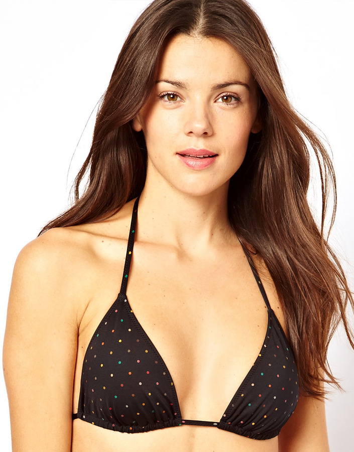 Paul Smith Mixed Spot String Bikini Top