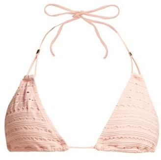 Heidi Klein Palermo Halterneck Bikini Top - Womens - Pink