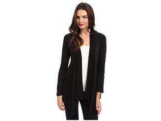 Splendid Exclusive Very Light Jersey Drape Cardigan