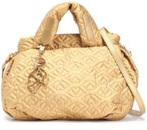 See by Chloe Joyrider Bisou Quilted Metallic Shell Shoulder Bag