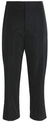 Jil Sander Cropped Canvas Straight-Leg Pants