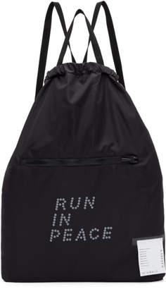 Satisfy Black R.I.P. Gym Backpack