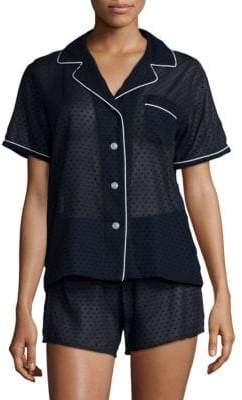 Corita Paloma Swiss Dot Cotton Pajamas