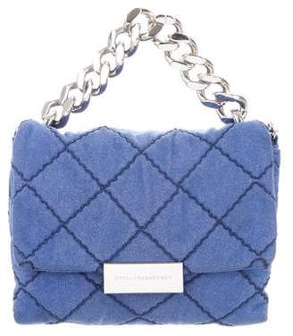 Stella McCartney Mini Quilted Eco Alter Nappa Satchel