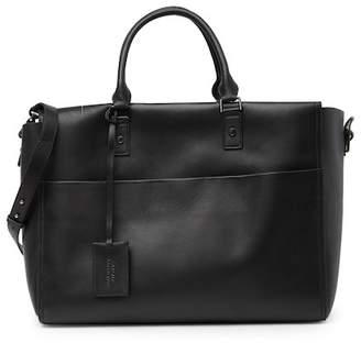 Versace Leather Weekend Bag