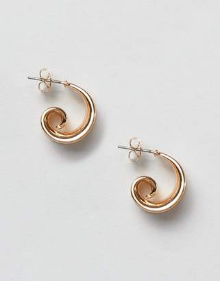 Pieces mini hoop earring