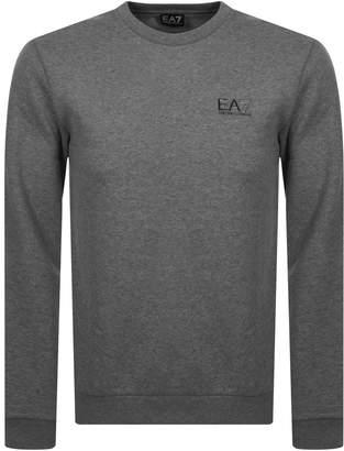 Emporio Armani Ea7 EA7 7 Lines Sweatshirt Grey