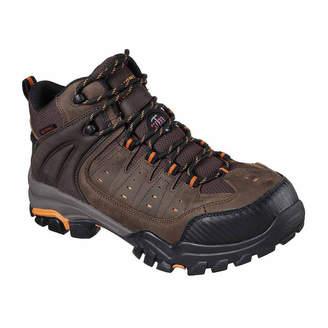 Skechers Mens Lakehead Waterproof Work Boots Lace-up