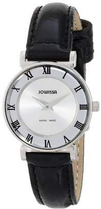 Jowissa Women's J2.004.S Roma 24 mm Dial Roman Numeral Leather Watch