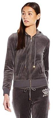 Juicy Couture Black Label Women's J Bling Original Velour Jacket $128 thestylecure.com