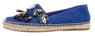 Marc Jacobs Embellished Round-Toe Espadrilles