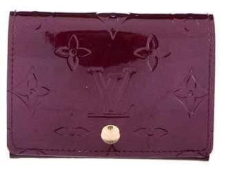Louis Vuitton Vernis Business Card Holder