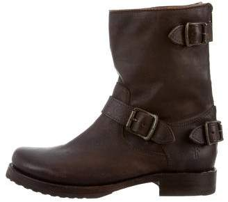 Frye Leather Mid-Calf Boots