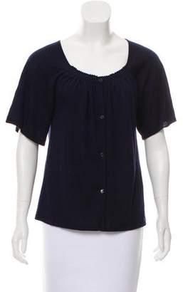 TSE Short Sleeve Cardigan