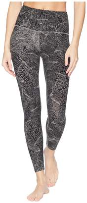 Beyond Yoga High-Waisted Print Midi Leggings Women's Casual Pants