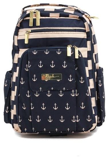 Infant Girl's Ju-Ju-Be 'Legacy - Be Right Back' Diaper Backpack - Black