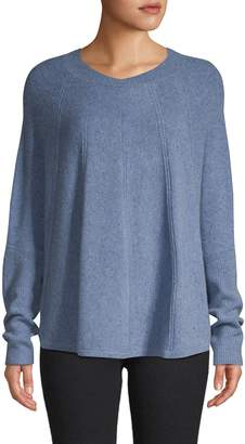 Qi Dolman-Sleeve Cashmere Sweater