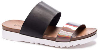 Chinese Laundry Cant Stop Flat Slide Sandals Women Shoes