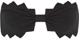 Marysia Swim Honolulu Scalloped Bandeau Bikini Top - Black