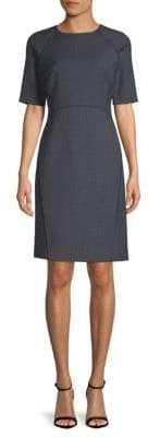 Lafayette 148 New York Faryn Short-Sleeve Dress