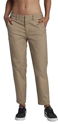 Hurley Junior's Lowrider Flat Front Tapered Fit Chino Pants