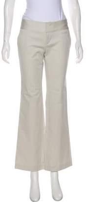 Calvin Klein Low-Rise Wide-Leg Pants