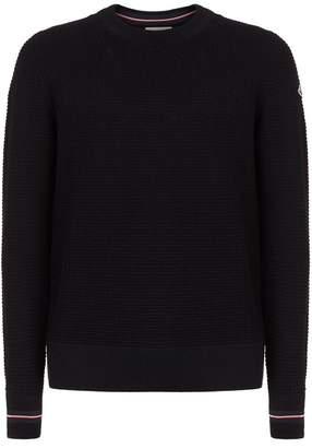 Moncler Stripe Trim Sweater