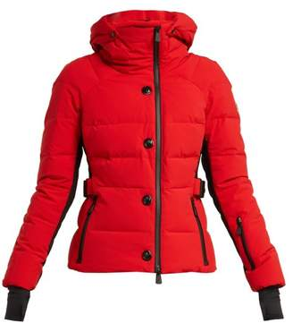 Moncler Guyane Quilted Down Jacket - Womens - Red
