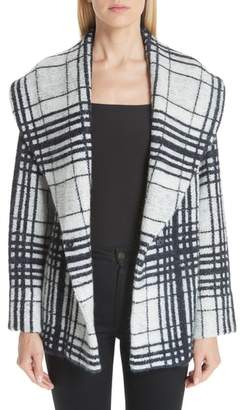 Missoni Shawl Collar Plaid Jacket