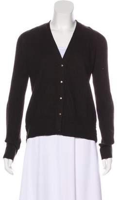 Lanvin Fleece Wool Knit Cardigan