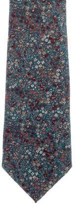 Liberty of London Designs Silk Floral Print Tie