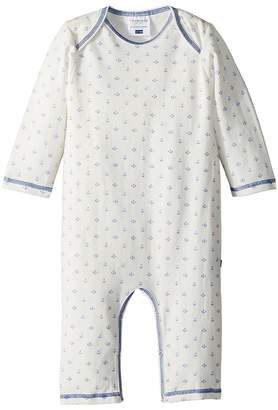 Toobydoo Sweet Blue Anchor Jumpsuit Kid's Jumpsuit & Rompers One Piece