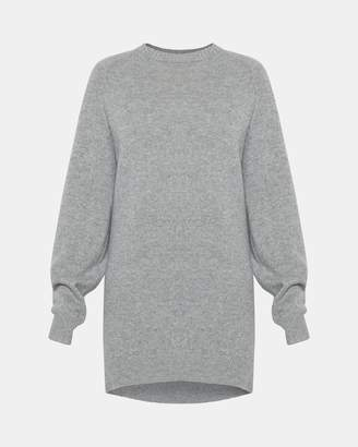 Theory Knit Sweatshirt Dress