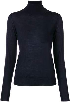 Roberto Collina roll-neck fitted jumper