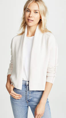 TSE Cashmere Cardigan with Chainette Beads