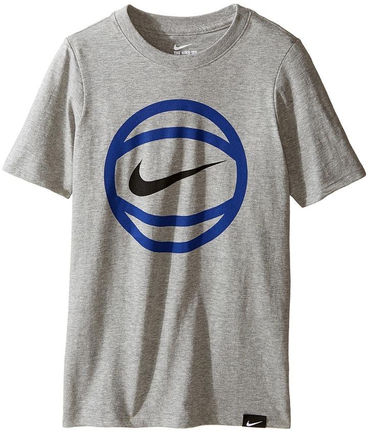 Nike Kids Basketball T-Shirt (Little Kids/Big Kids)