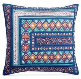 Martha Stewart Mahal Embroidery Cushion
