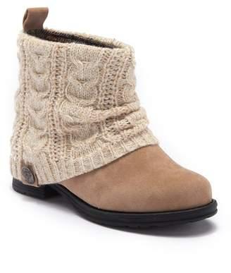 Muk Luks Cass Water Resistant Knit Boot